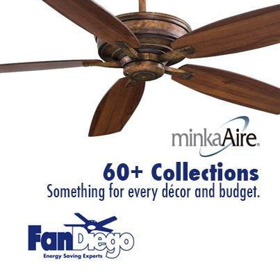 HOT TRENDS IN INDOOR CEILING FANS – MEET MINKA AIRE!